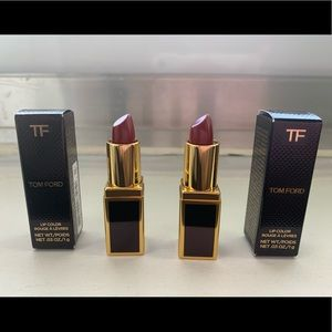 Tom Ford lip colour 16scarlet rouge x 2